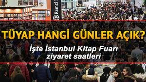 TÜYAP İstanbul Kitap Fuarına nasıl gidilir TÜYAP hangi günler ziyarete açık