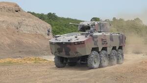 Askeri araç ihracatında 8x8 performans