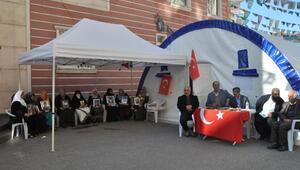 HDP önündeki eylemde 68inci gün