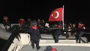Bodrumda 2 günde 52 kaçak göçmen yakalandı