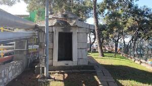 2 bin 400 yıllık mezar odası, fabrikada korunuyor