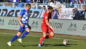 BB Erzurumspor ile Akhisarspor yenişemedi