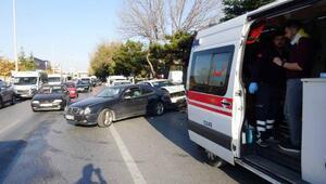 Konyada 4 aracın karıştığı zincirleme kaza: 4 yaralı