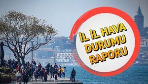 Pazar günü hava nasıl olacak 10 Kasım Türkiye geneli il il hava durumu tahminleri