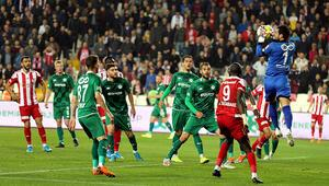 Süper Ligin yeni lideri Sivasspor
