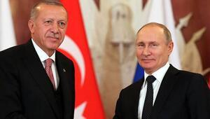 Cumhurbaşkanı Erdoğan, Putinle görüştü