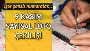 Sayısal Loto devretti, ikramiye 3 milyon TLyi buldu 9 Kasım MPİ Sayısal Loto çekiliş sonuçları sorgulama