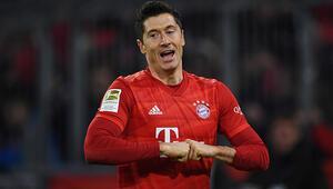 Lewandowski coştu Bayern Münih, Borussia Dortmundu parçaladı