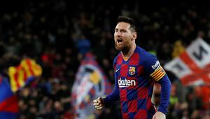 Lionel Messi yine coştu, Barcelona rahat kazandı