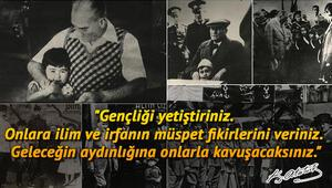 Atatürk resmi ve en farklı 10 Kasım Atatürk sözleri derlemesi