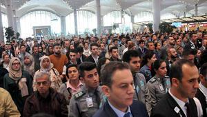 İstanbul Havalimanında 09.05