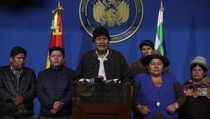 Bolivyanın istifaya zorlanan lideri, Meksikaya iltica etti