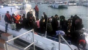 Çeşmede 2 günde 123 kaçak göçmen yakalandı