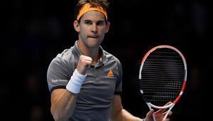 Dominic Thiem, Federeri mağlup etti