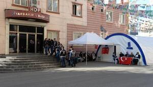 HDP önündeki eylemde 70inci gün