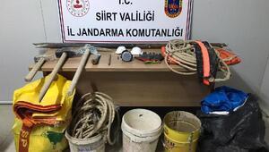 Siirtte, kaçak kazı yapan 6 kişi suçüstü yakalandı