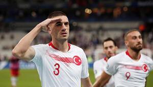 Hakan Çalhanoğlundan Merih Demirala; Komando