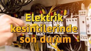 İstanbulda hangi bölgelerde elektrik kesintisi yaşanıyor İstanbul Anadolu ve Avrupa Yakası elektrik kesinti listesi