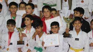 Afrinde Barış Pınarı Tekvando Turnuvası düzenlendi