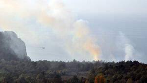 Bartın'da korkutan yangın 7 ev boşaltıldı