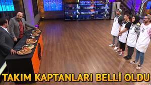 MasterChef Türkiyede kaptanlık oyununu kim kazandı İşte MasterChefin bu haftaki takım kaptanları
