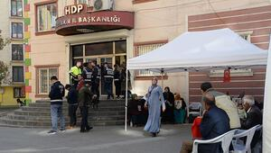 HDP önündeki eylemde 71inci gün