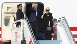 Cumhurbaşkanı Erdoğan ABDye gitti