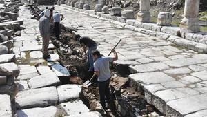 2 bin 200 yıllık kanalizasyon sistemi