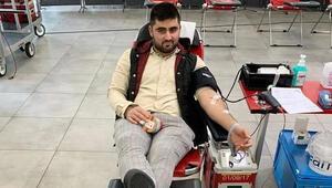 Almanya'da Türklerden kan bağışı kampanyası