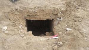 Üniversite kampüsünde bulundu Mezar odası ve 4 iskelet...
