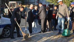 Emet Belediyesi'nden temizlik seferberliği