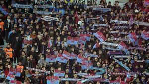 Trabzonsporun geliri de seyirci sayısı da arttı