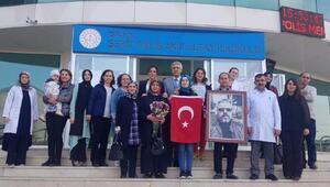 Şehit Altayın eşi: Düşmanlarımızı sevindirmeyeceğiz