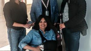 Hintli göz doktoru Kayseri Şehir Hastanesinde sağlığına kavuştu