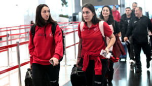 A Milli Kadın Basketbol Takımı Sırbistana gitti