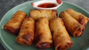 Çin böreği nasıl yapılır Sebzeli Çin böreği tarifi