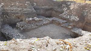 Site inşaatından tarih çıktı