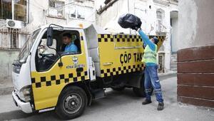 Dar sokaklara çöp taksi girecek