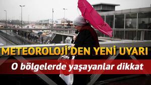 Perşembe günü için İstanbula sağanak yağış uyarısı... 14 Ekim il il hava durumu tahminleri