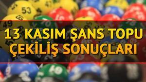 13 Kasım Şans Topu çekiliş sonuçları MPİ tarafından açıklandı Milli Piyango Şans Topu sorgulama