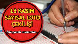 Sayısal Lotoda 4 milyon TL 1 kişiye çıktı MPİ 13 Kasım Sayısal Loto çekiliş sonuçları ve sorgulama