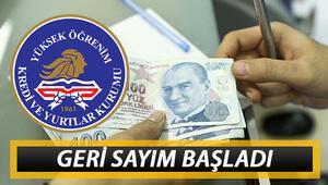 KYK kredi ve burs sonuçları 15 Kasımda açıklanacak mı Geri sayım başladı