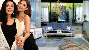 4 katlı 420 m2lik villa... Türkan Şoray ve kızı Yağmur bu evde yaşıyor
