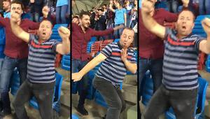 Galatasaray maçında farklı danslarım var
