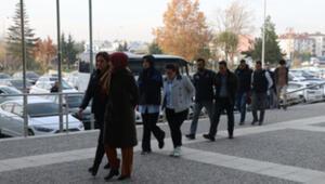 Bolu merkezli FETÖ/PDY operasyonunda gözaltına alınan 11 şüpheli adliyede
