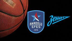 Anadolu Efes Zenit maçı hangi kanalda