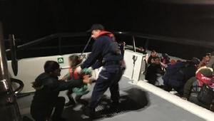 Çeşmede 44 kaçak göçmen yakalandı