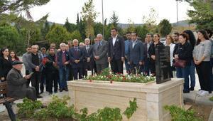Çiğli Belediyesi eski Başkanı Ensari Bulut, ölüm yıl dönümünde anıldı