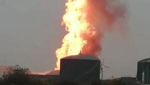 Bursada süt fabrikasında yangın