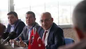 Mehmet Büyükekşi: Gaziantep Basketbol takımını da derneğimiz çatısı altında...